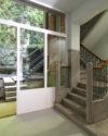 Cage d'escalier en granito restaurée