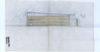 Croquis d'étude coupe  de la façade latérale