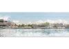 Vue depuis l'autre rive de la Meuse